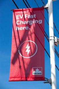 Petro-Canada EV Flag
